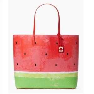 NWT Kate Spade Len watermelon tote